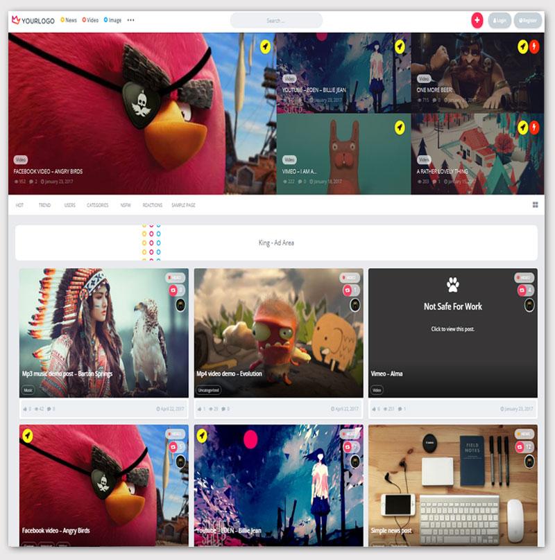 king-Viral-Magazine-WordPress-Theme-buzz