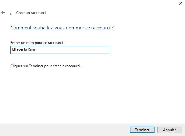 raccourci-description-vider-mémoire-cache-windows-10