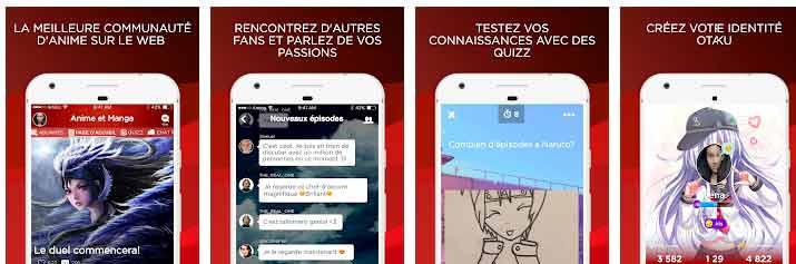application-animes-francais