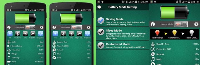 économiseur de batterie