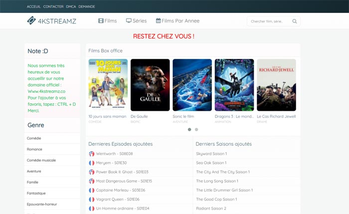 4kstreamz - streaming films-series vostfr