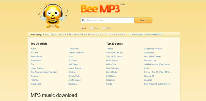 beemp3-musique-telecharger-ecouter-gratuitement