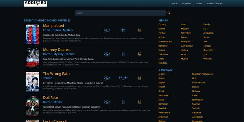 addic7ed-meilleurs-sites-sous-titres-francais-films-series-telechargement-gratuit