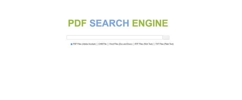 PDF-search-engine