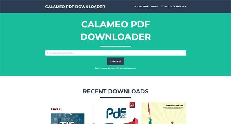 calameo-pdf-downloade-meilleurs-sites-telecharger-livres-gratuits-pdf